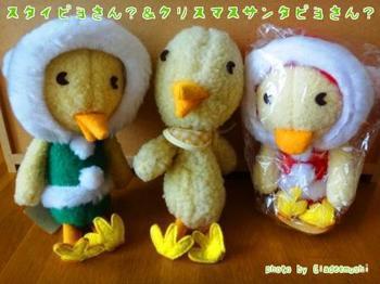 スタイピヨさん?&クリスマスピヨさん?_GLADEE(グラディー)を探してコレクション.jpg